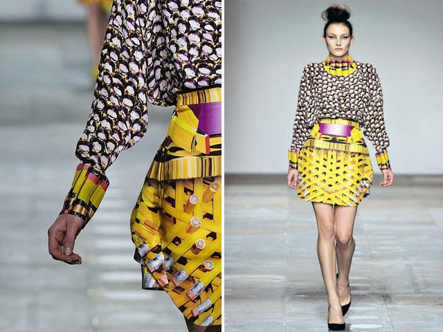 Mary Katrantzou Fall digital print dress (5)