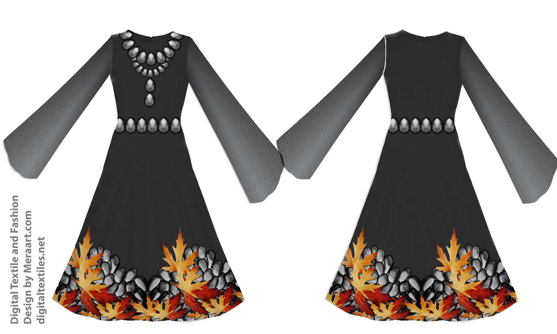 Digital textile fashion prints designer dress online servies (3)