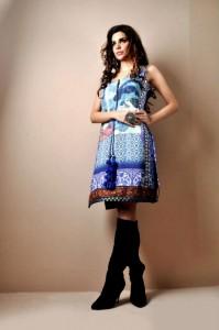 Digital Prints Collection 2013 By Shamaeel Ansari - 003 - www.Fashionhuntworld.Blogspot.com