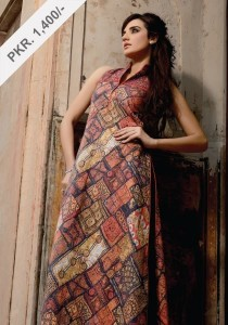 Digital Printed Winter Frock Collection, Alkaram Digital textiles, fashion girls women  (2)