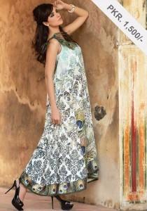 Digital Printed Winter Frock Collection, Alkaram Digital textiles, fashion girls women  (3)