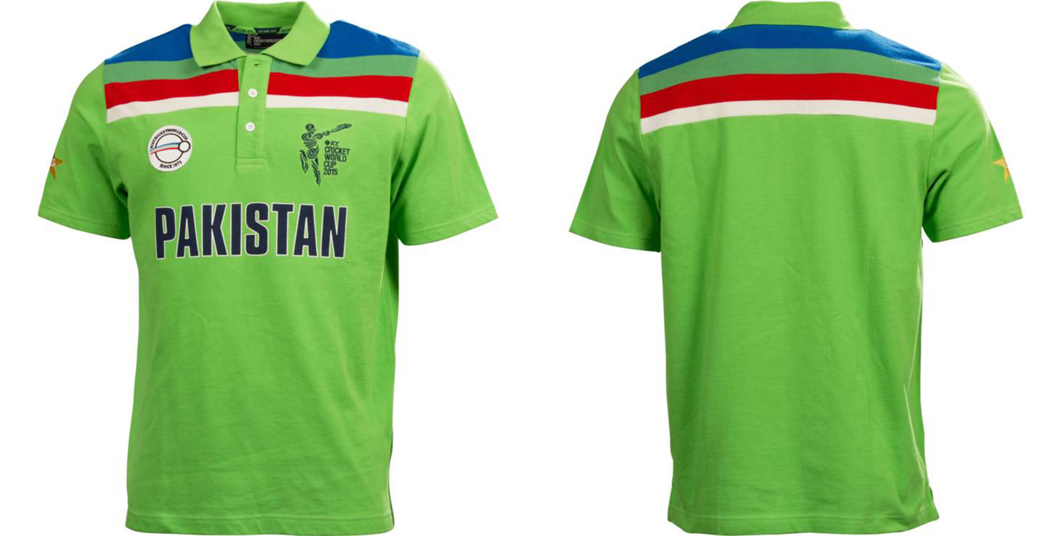 low priced 3ed8d c9cbb ICC Worldcup CWC 2015 Men's Pakistan 1992 Replica Playing ...