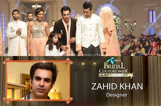 KUKI CONCEPTS tbcw14 telenor bridal couture week 2014 Lahore Designer Zahid Kahn Fashion Collection Made in Pakistan Name of the collection Parisa Theme of collection  Dreamy n mystical