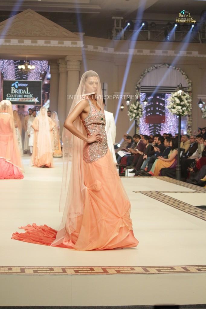 TBCW14  KUKI CONCEPTS telenor bridal couture week 2014 Lahore Designer Zahid Kahn Fashion Collection Pakistan (33)