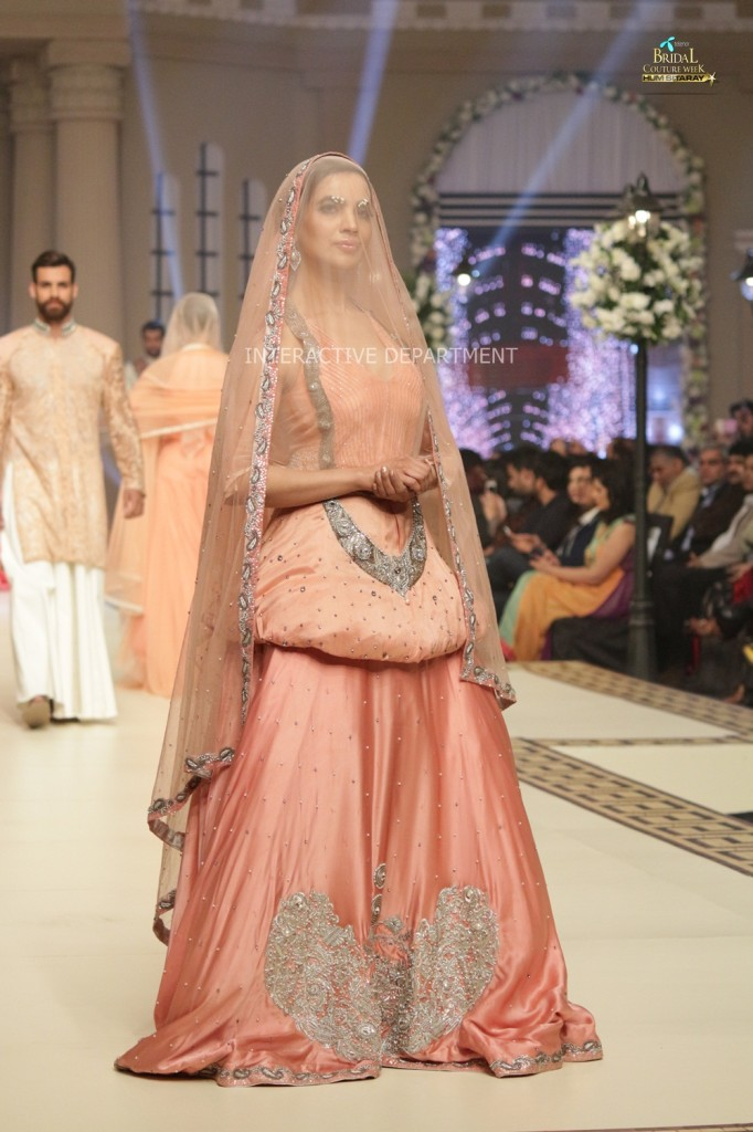 TBCW14  KUKI CONCEPTS telenor bridal couture week 2014 Lahore Designer Zahid Kahn Fashion Collection Pakistan (36)