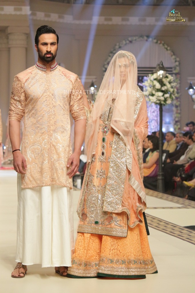 TBCW14  KUKI CONCEPTS telenor bridal couture week 2014 Lahore Designer Zahid Kahn Fashion Collection Pakistan (38)