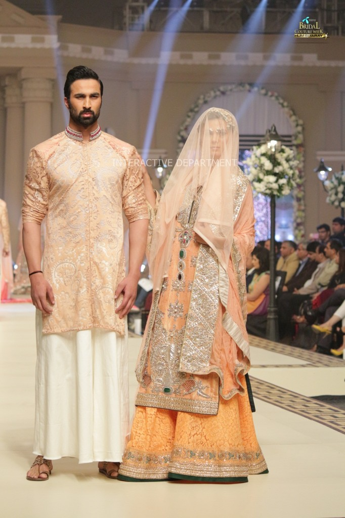 TBCW14  KUKI CONCEPTS telenor bridal couture week 2014 Lahore Designer Zahid Kahn Fashion Collection Pakistan (39)