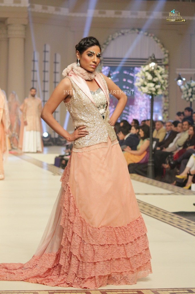 TBCW14  KUKI CONCEPTS telenor bridal couture week 2014 Lahore Designer Zahid Kahn Fashion Collection Pakistan (40)