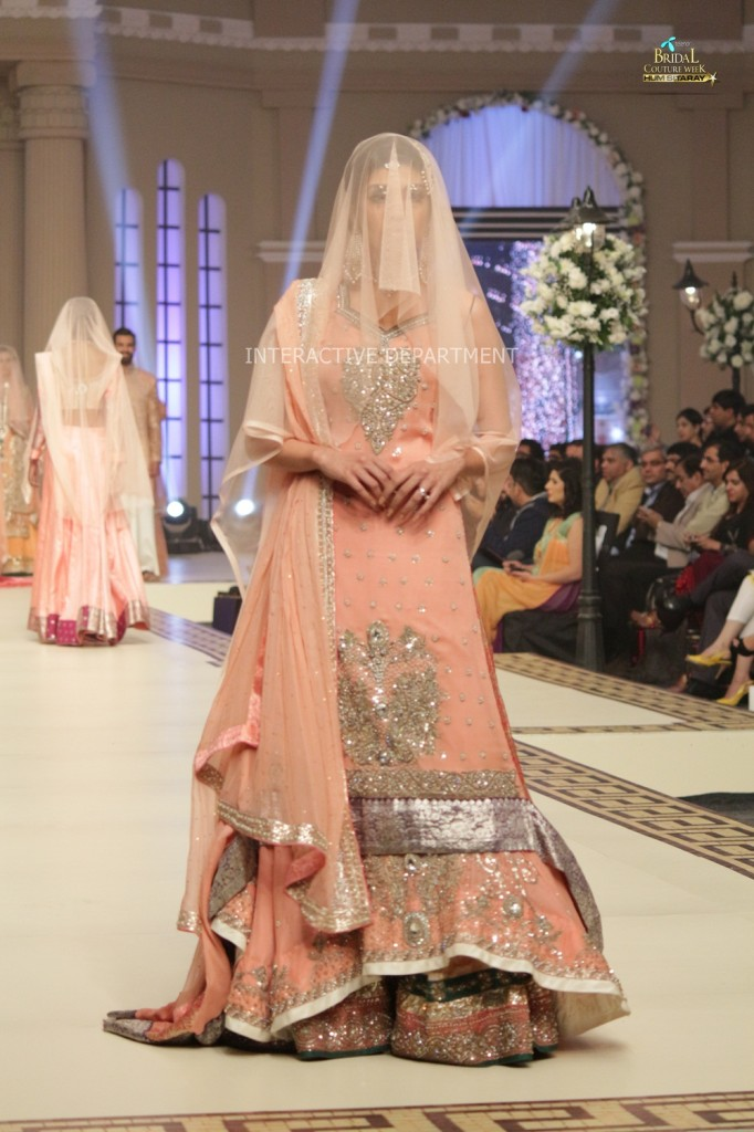 TBCW14  KUKI CONCEPTS telenor bridal couture week 2014 Lahore Designer Zahid Kahn Fashion Collection Pakistan (45)