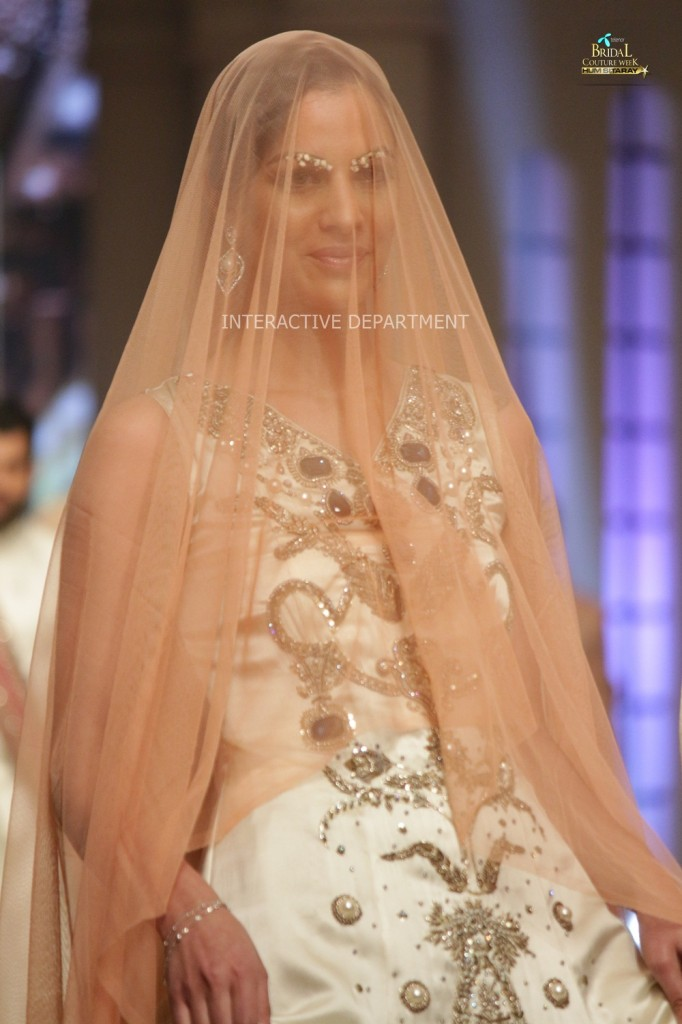 TBCW14  KUKI CONCEPTS telenor bridal couture week 2014 Lahore Designer Zahid Kahn Fashion Collection Pakistan (47)