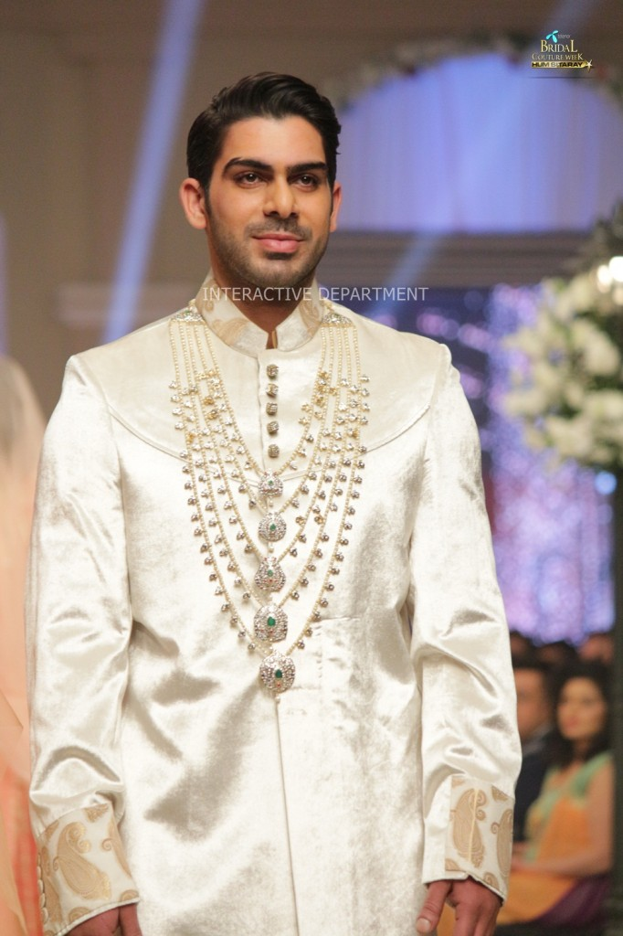 TBCW14  KUKI CONCEPTS telenor bridal couture week 2014 Lahore Designer Zahid Kahn Fashion Collection Pakistan (48)