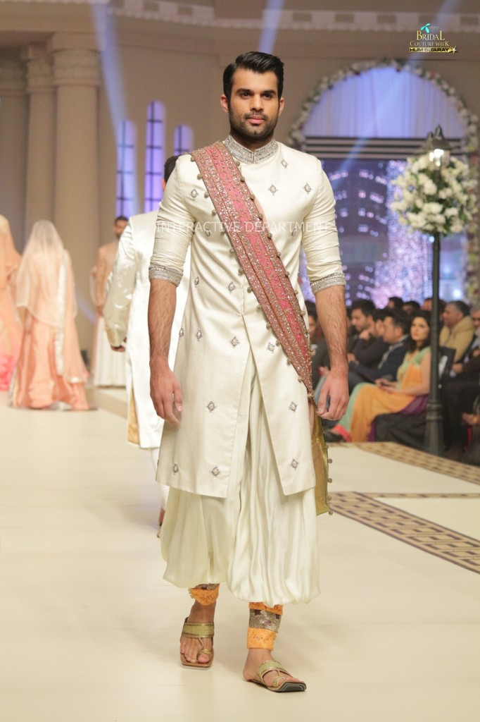 TBCW14  KUKI CONCEPTS telenor bridal couture week 2014 Lahore Designer Zahid Kahn Fashion Collection Pakistan (49)