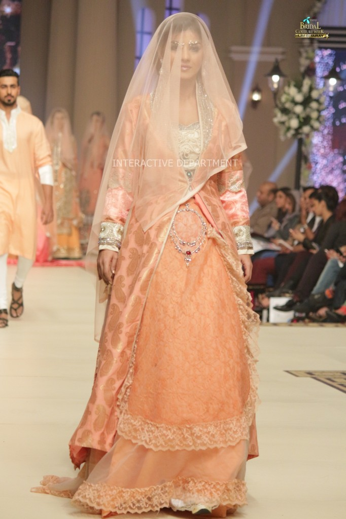 TBCW14  KUKI CONCEPTS telenor bridal couture week 2014 Lahore Designer Zahid Kahn Fashion Collection Pakistan (50)