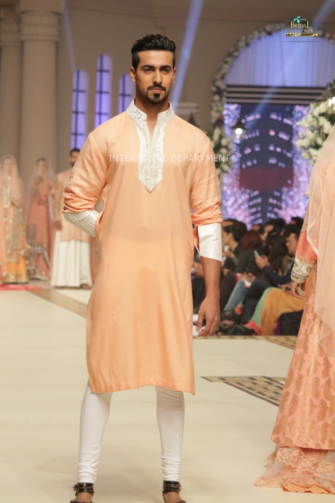 TBCW14  KUKI CONCEPTS telenor bridal couture week 2014 Lahore Designer Zahid Kahn Fashion Collection Pakistan (51)