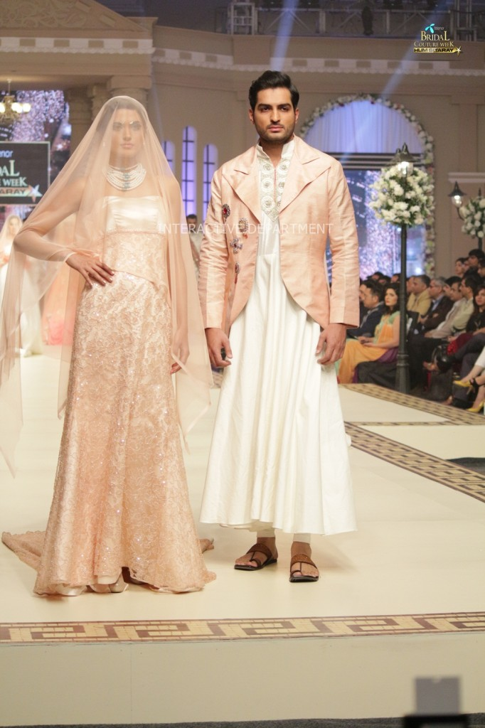 TBCW14  KUKI CONCEPTS telenor bridal couture week 2014 Lahore Designer Zahid Kahn Fashion Collection Pakistan (54)