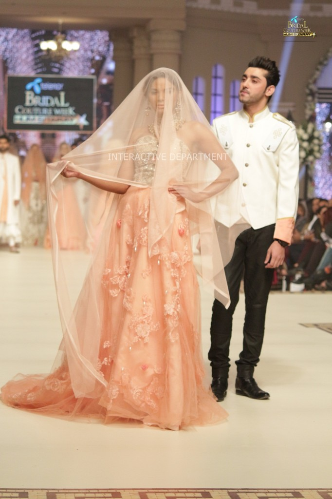 TBCW14  KUKI CONCEPTS telenor bridal couture week 2014 Lahore Designer Zahid Kahn Fashion Collection Pakistan (59)