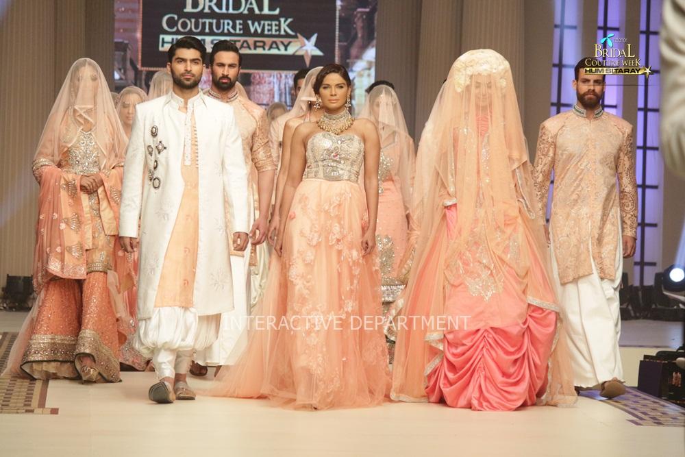 TBCW14  KUKI CONCEPTS telenor bridal couture week 2014 Lahore Designer Zahid Kahn Fashion Collection Pakistan (60)