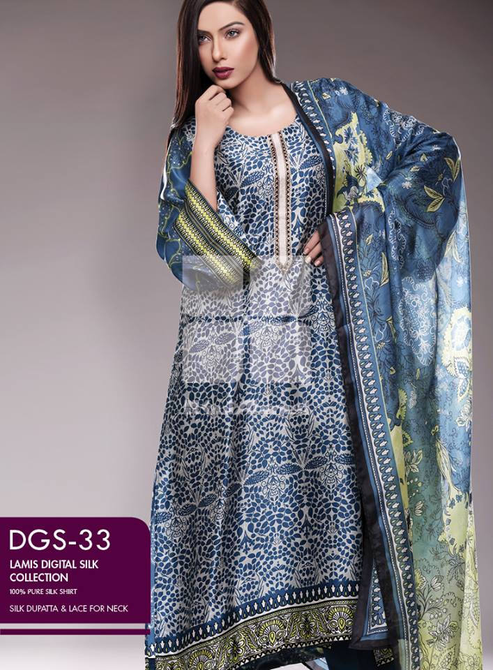 Lamis Digital Silk Collection by GulAhmed made in pakistan (2)