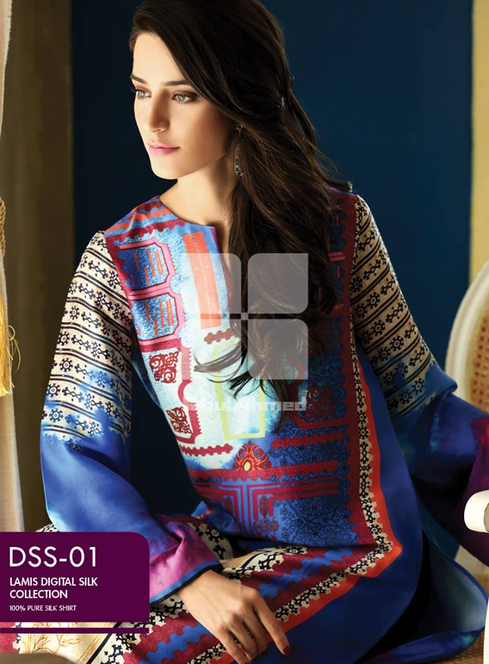 Lamis Digital Silk Collection by GulAhmed made in pakistan (5)