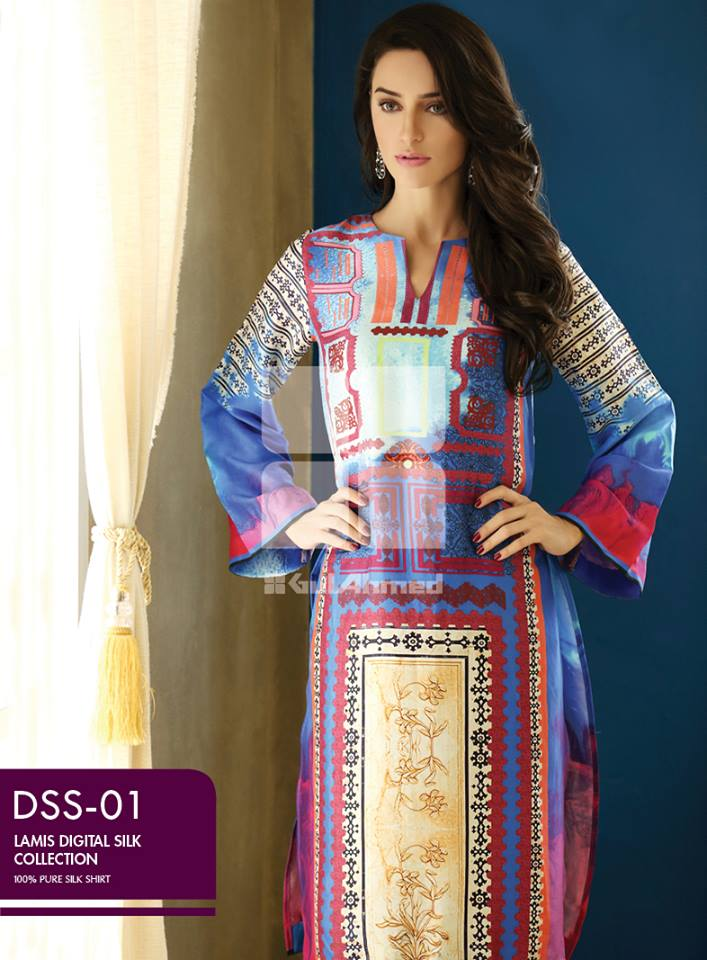 Lamis Digital Silk Collection by GulAhmed made in pakistan (8)