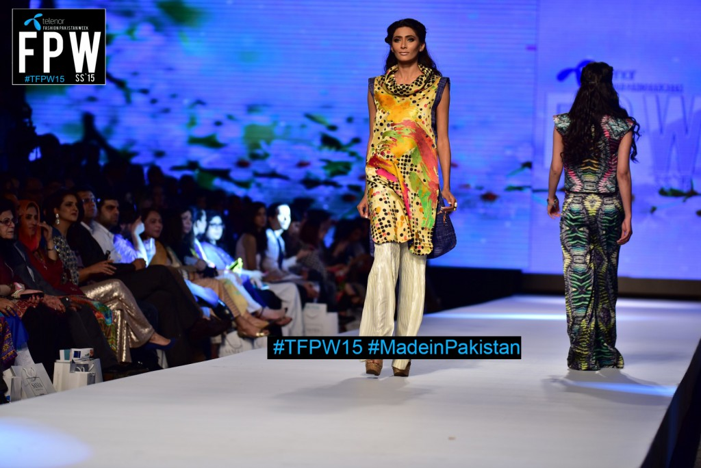 TFPW15 Telenor Fashion Pakistan Week 2015 TFPW 31st March 2015 Pearl Continental Hotel Karachi (19)