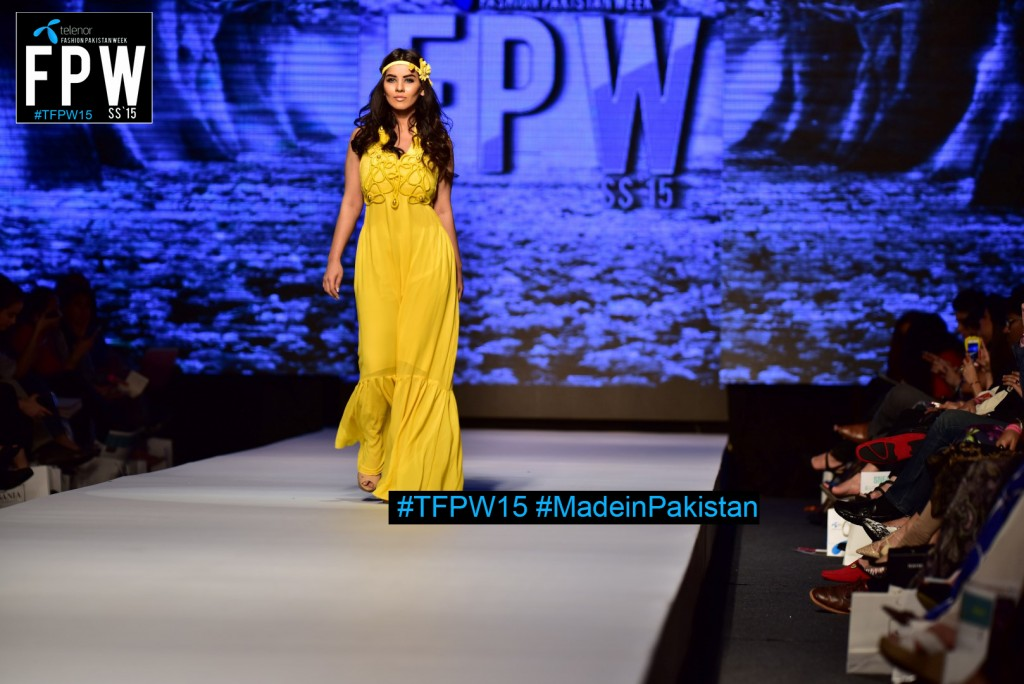 TFPW15 Telenor Fashion Pakistan Week 2015 TFPW 31st March 2015 Pearl Continental Hotel Karachi (20)
