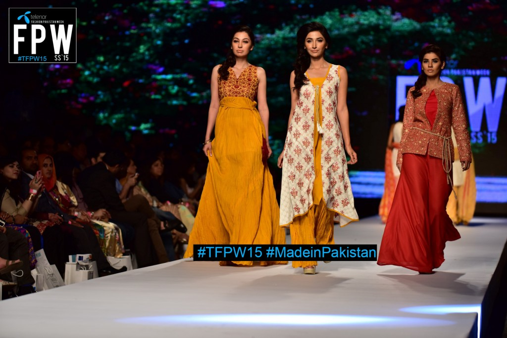 TFPW15 Telenor Fashion Pakistan Week 2015 TFPW 31st March 2015 Pearl Continental Hotel Karachi (30)