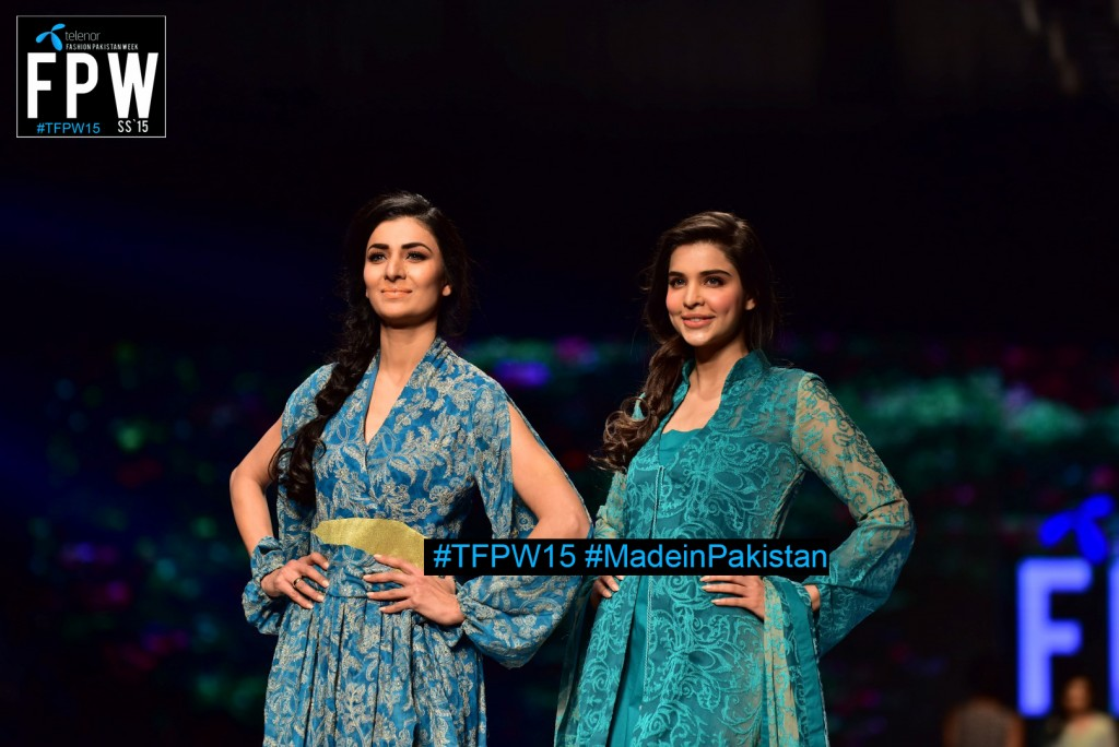 TFPW15 Telenor Fashion Pakistan Week 2015 TFPW 31st March 2015 Pearl Continental Hotel Karachi (31)
