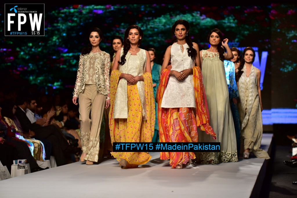 TFPW15 Telenor Fashion Pakistan Week 2015 TFPW 31st March 2015 Pearl Continental Hotel Karachi (33)