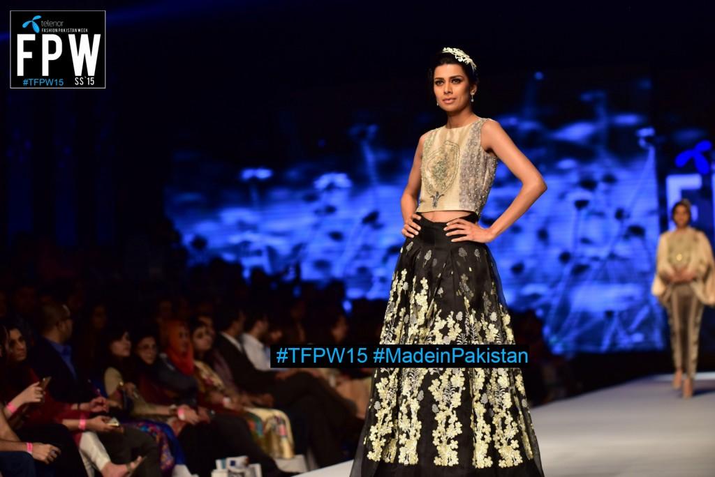 TFPW15 Telenor Fashion Pakistan Week 2015 TFPW 31st March 2015 Pearl Continental Hotel Karachi (4)