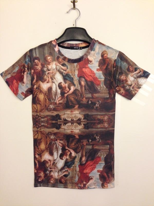 Digital 3D Printed Cotton Women Men Hip Hop Fashion Brand T-shirt digital textiles (14)