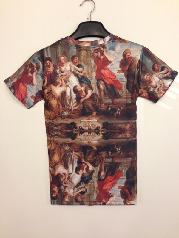 Digital 3D Printed Cotton Women Men Hip Hop Fashion Brand T-shirt digital textiles (4)