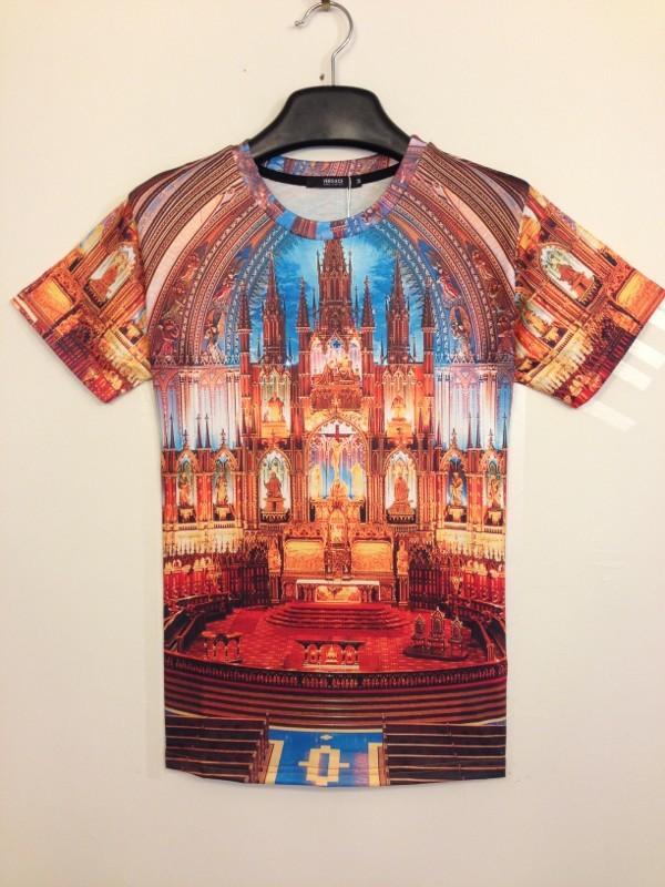 Digital 3D Printed Cotton Women Men Hip Hop Fashion Brand T-shirt digital textiles (8)