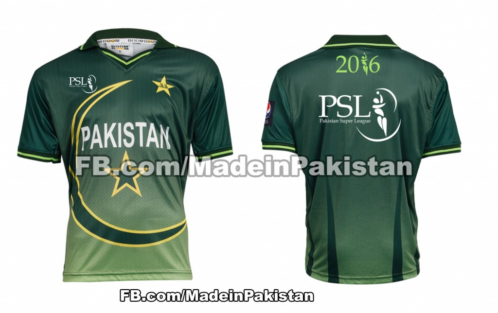 pakistan super league 2016 SPLT20 Tshirts 2020 Team Garments kit