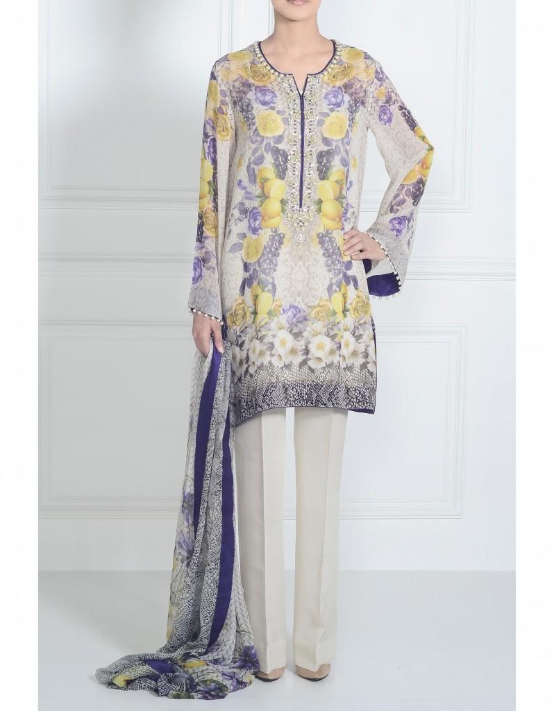 Elan pure Digital Silk prints Fashion Dressess Kurties Top and pants 2015-2016 (12)