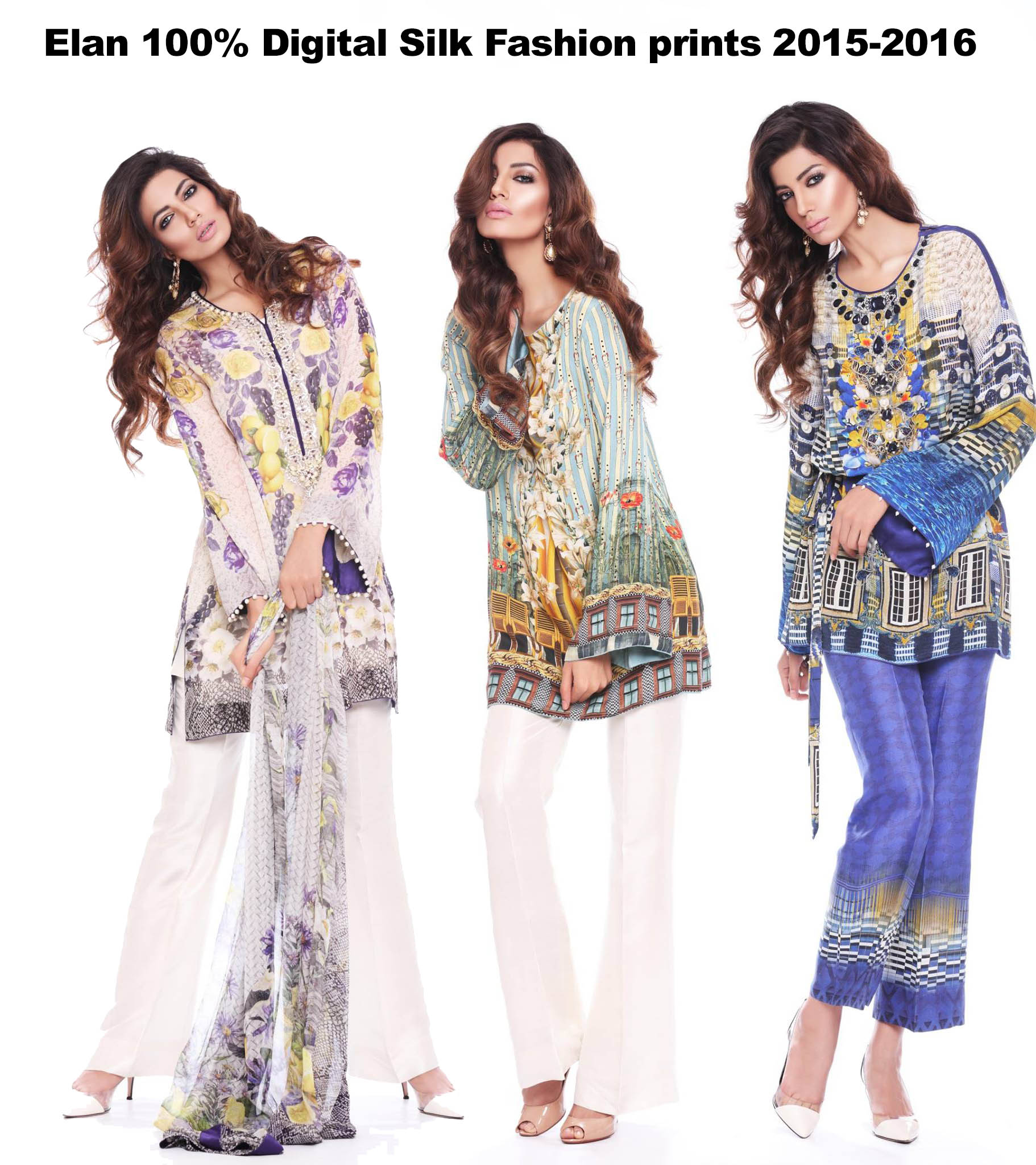 Elan pure Digital Silk prints Fashion Dressess Kurties Top and pants 2015-2016 (22)