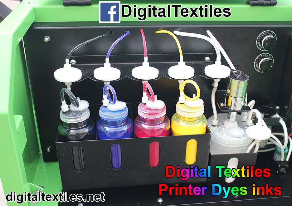 Digital Industrial Rreactive and sublimation Dyes Inks for digital textiles fabric printing machine supply in karach, lahore , faisalabad  islamabad Sialkot pakistan