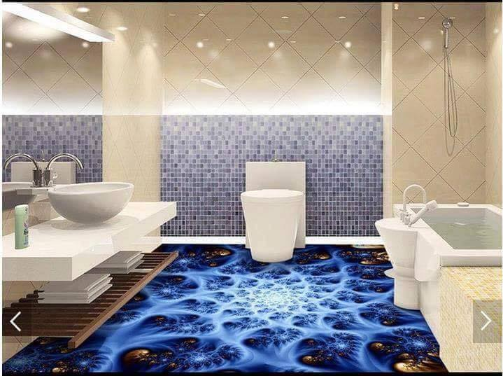 Digital 3d floor designs services in pakistan for your for Bathroom 3d floor designs