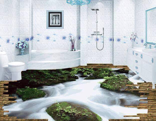 Digital 3d floor designs services in pakistan for your for Bathroom designs pakistan