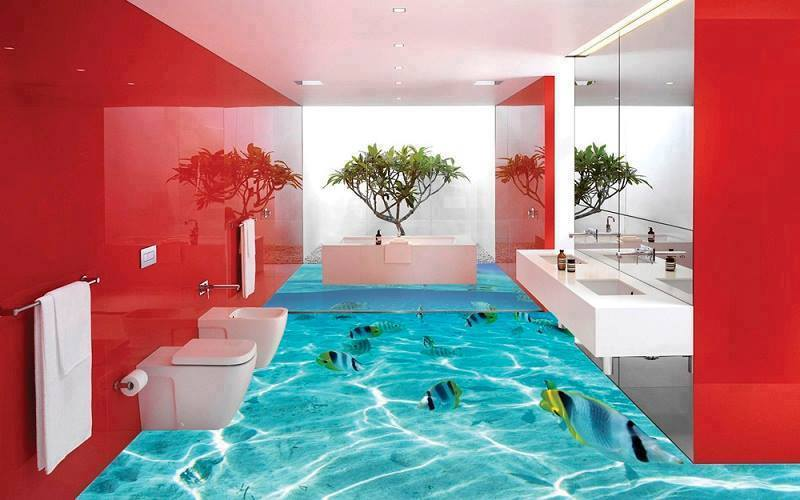 3D Floor Designs Have Become Quite Popular Decor Trend. They Can Be Found  In Versatile Designs And Are Mainly Found In Bathrooms, But You Can Also ... Part 56